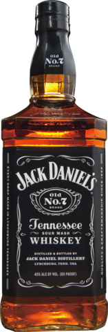 null Jack Daniel's Old No.7 Tennessee Whiskey 700mL
