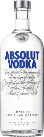 null Absolut Vodka 1LT