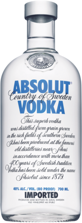 null Absolut Vodka 700ML