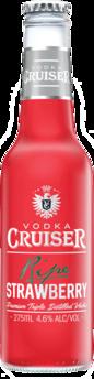null Cruiser Vodka & Strawberry Bottle 4X275ML