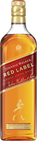null Johnnie Walker Red Label Blended Scotch Whisky 1L