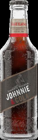 null Johnnie Walker Scotch & Cola Bottle 24X345ML