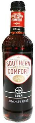null Southern Comfort & Cola Bottle 4X330ML