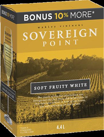 null Sovereign Pt Sft/White Cask 4LT