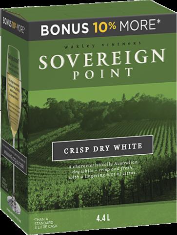 null Sovereign Pt Cl/D/White Cask 4LT