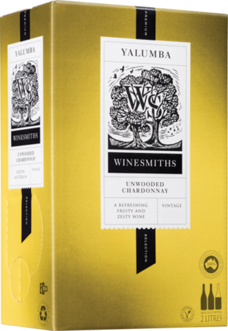 null Winesmiths Premium Selection Unwooded Chardonnay Cask 2LT
