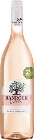 null Banrock Station Pink Moscato 1LT