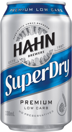 null Hahn Super Dry 4.6% Can 6X375ML