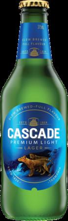 null Cascade Premium Light Bottle 24X375ML