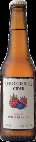 null Rekorderlig Wildberry Bottle 4X330ML