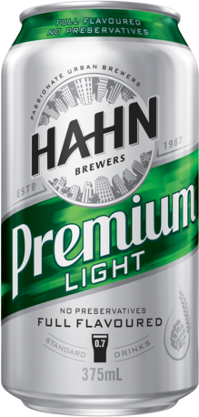 null Hahn Premium Light Can 24X375ML