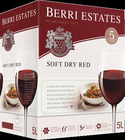 null Berri Soft Dry Red Cask 5LT
