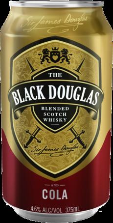 null Black Douglas Scotch & Cola Can 4X375ML