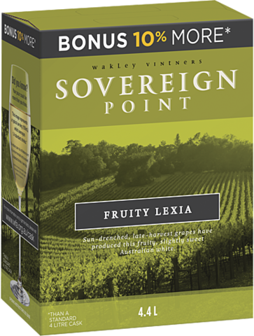 null Sovereign Pt Fruity Lexia Cask 4LT