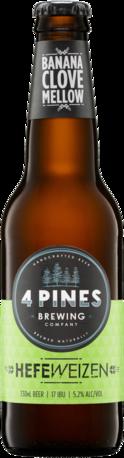 null 4 Pines Hefeweizen Bottle 24X330ML