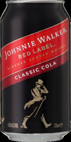 null Johnnie Walker Scotch & Cola Can 6X375ML