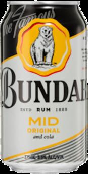 null Bundaberg Rum & Cola 3.5% Can 24X375ML