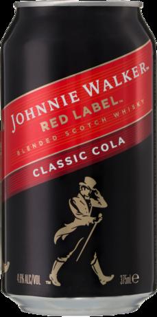 null Johnnie Walker Scotch & Cola Can 24X375ML
