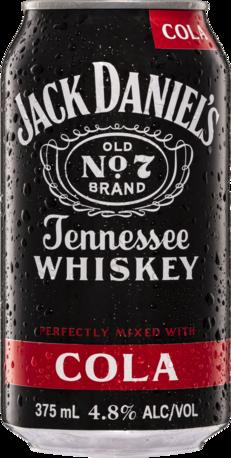 null Jack Daniel's & Cola 24 Pack (4x6pk) 375mL