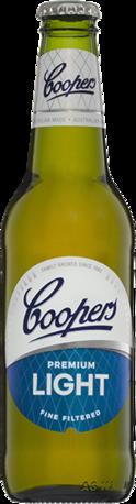 null Coopers Premium Light Bottle 24X375ML