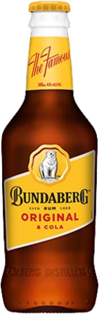 null Bundaberg Rum UP & Cola 4.6% Bottle 1X345ML