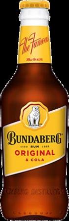 null Bundaberg Rum UP & Cola 4.6% Bottle 4X345ML
