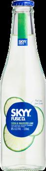 null Skyy Fused Soda & Lime 6% Bottle 24X330ML