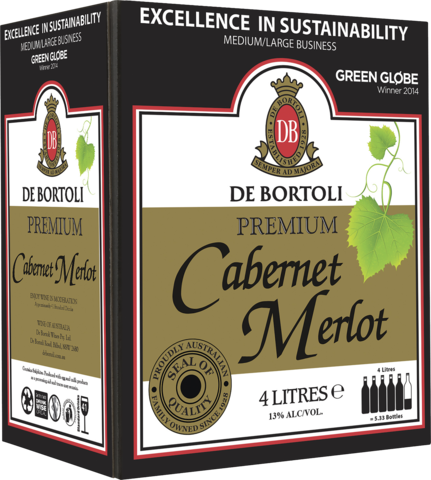 null De Bortoli Cabernet Merlot Cask 4LT