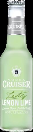 null Vodka Cruiser Lemon & Lime Btl 4x275ML