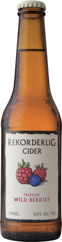 null Rekorderlig Wildberry Bottle 24X330ML