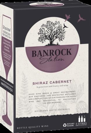 null Banrock Station Shiraz Cabernet Cask 2LT