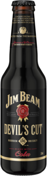 null Jim Beam Devils Cut Bourbon & Cola Btl 4X330ML