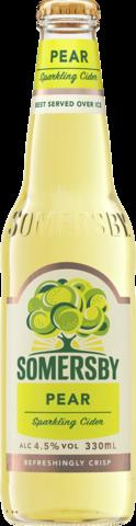 null Somersby Pear Btl 24X330ML