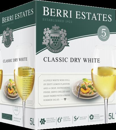 null Berri Classic Dry White Cask 5LT
