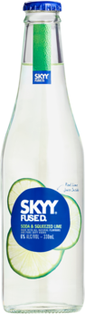 null Skyy Fused Soda & Lime 4X330ML