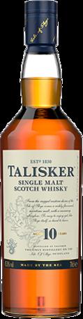 null Talisker 10 Year Old Single Malt Scotch Whisky 700mL