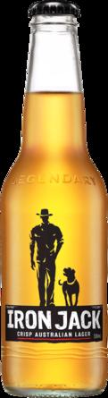 null Iron Jack Black Lager Bottle 1X330ML