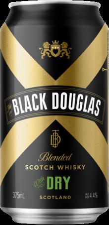 null Black Douglas Scotch & Dry Can 24X375ML