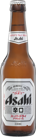 null Asahi Super Dry Bottle 6X330ML