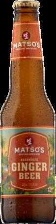 null Matsos Ginger Beer Bottle 6X330ML