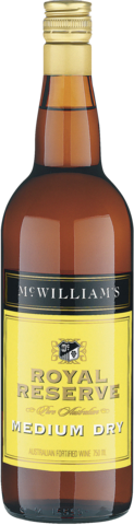 null McWilliams  Royal Reserve Medium Dry Sherry 750ML