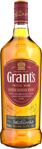 null Grant's Triple Wood Blended Scotch Whisky 1L