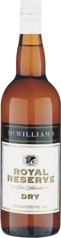 null McWilliams Royal Reserve Dry Sherry 750ML