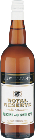 null McWilliams Royal Reserve Semi Sweet Sherry 750ML