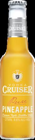 null Vodka Cruiser Pure Pineapple Btl 24x275ML