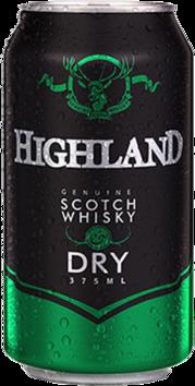 null Highland Scotch 4.8% & Dry Can 6X375ML