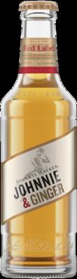 null Johnny Walker Scotch & Dry Bottle 24X345ML