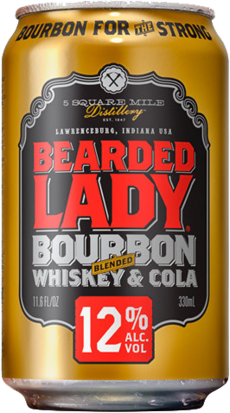 null Bearded Lady Bourbon & Cola 8% Can 24X375ML