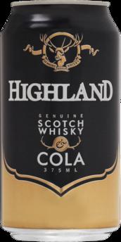 null Highland Scotch 4.8% & Cola Can 6X375ML