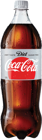 null Coca Cola Diet Bottle Single 1.25LT